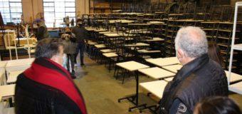 Mobiliario para las escuelas de la provincia de Buenos Aires fabricados en José C. Paz